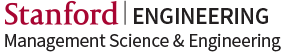 Stanford Engineering Management Science and Engineering