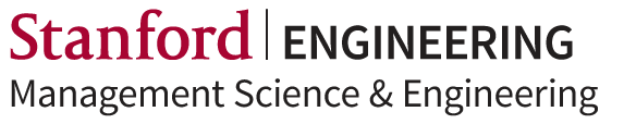 Stanford Management Science and Engineering Logo